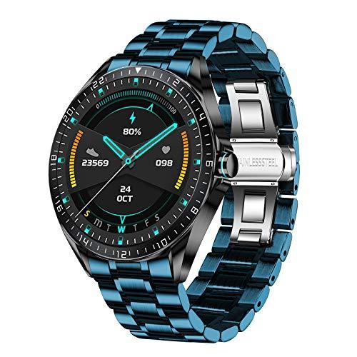 LIGE Smart Watch für Herren, Fitness Tracker mit Blutdruck Sauerstoff Herzfrequenz Uhren Schrittzähler Armbanduhr Männer Android iOS