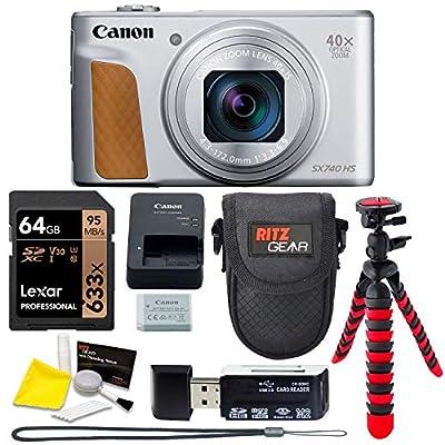 Canon SX740 Black& Silver by
