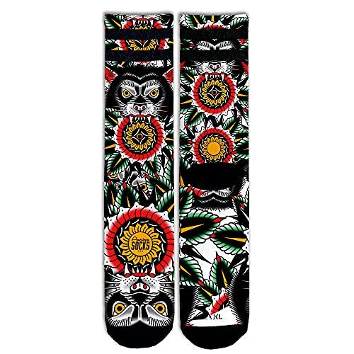 American Socks Wolf - Mid High S/M