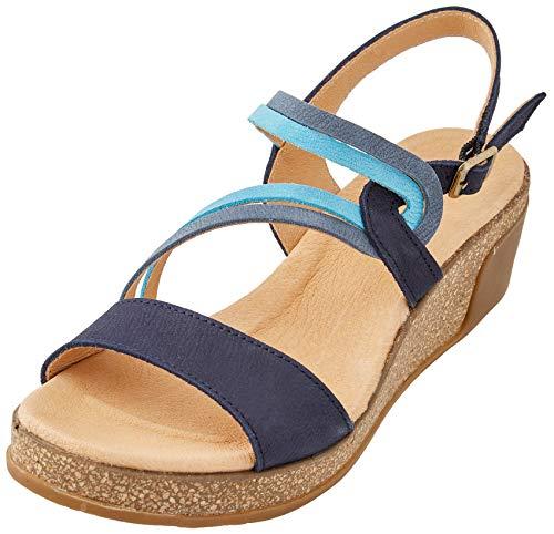El Naturalista Damen N5019 Sandale, Ocean Mix, 39 EU