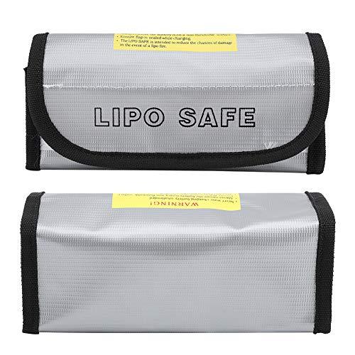 Aisla eficazmente la batería bolsa ignífuga de tela ignífuga ligera y antideflagrante para la batería de almacenaje, carga de protección portátil para la protección de la batería.