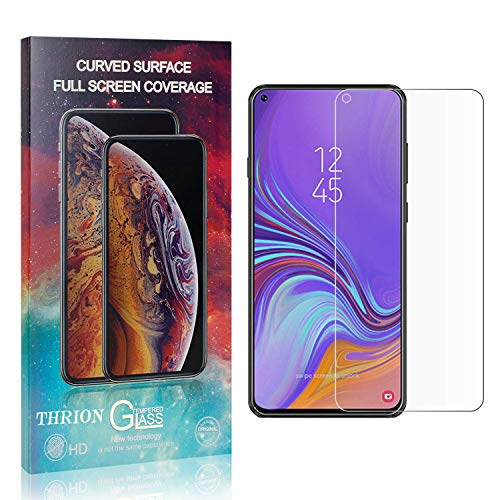THRION 4 Stück Panzerglas Folie Schutzfolie für Galaxy A8S, HD Anti-Kratzen Bildschirmschutzfolie für Samsung Galaxy A8S