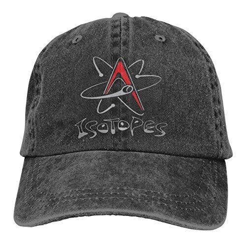 N \ A Albuquerque Isotopes Baseball Unisex Cowboyhut Trend Verstellbar Casquette Trucker Hat Schwarz
