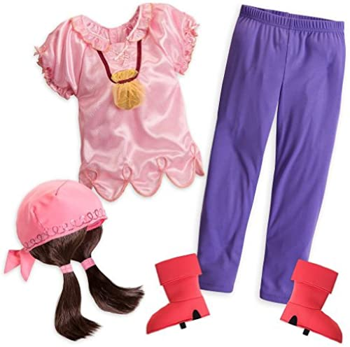 Disney Store Izzy Halloween Costume Größe XS 4 4T Jake and the Never Land Pirates
