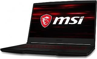 MSI GF63 Thin 9RCX Gaming Laptop - 15.6 Inch FHD, Intel Core i5-9300H, 512 GB SSD, 8 GB RAM, NVIDIA GeForce GTX 1050Ti Ma...