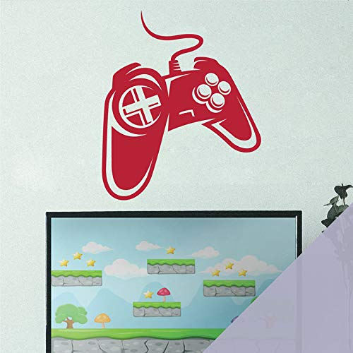 Wall Designer Game Controller – XBox Playstation Computer Gamer Konsole [Hellgrau]