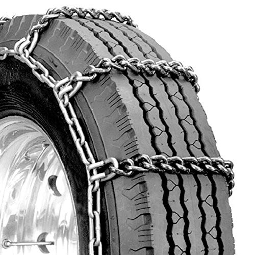 Security Chain Company QG2448 Quik Grip Truck Mud Service Tire Traction Chain - Set of 2