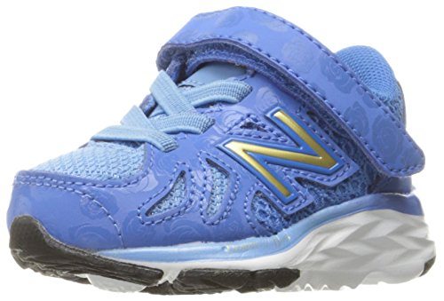 New Balance Kids' 790 V6 Disney's Belle of The Ball Hook and Loop Running Shoe