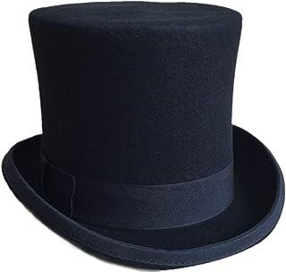 【mind hat】 スタンダードタイプ シルクハット ハードタイプ 羊毛 黒 ブラック