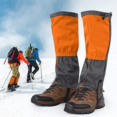 Alomejor 1 paar sneeuwlaarzen leggings waterdichte gazas winter outdoor sport schoenen afdekking voor klimmen wandelen