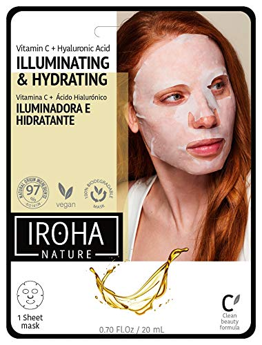 Sale special price Iroha Nature Selling - Intensive Tissue Mask + Antioxidant Vitamin H C