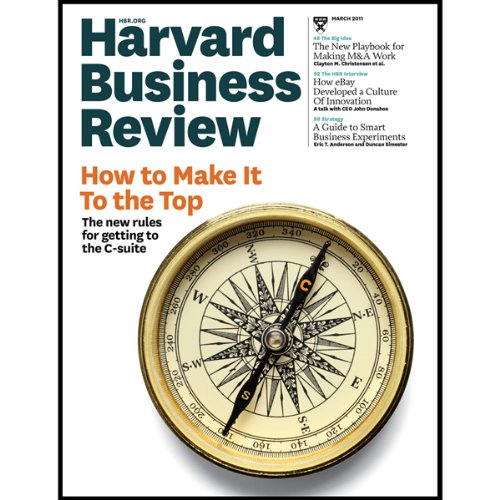Harvard Business Review, March 2011 audiobook cover art