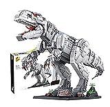 Set de Construcción Caos del T. rex, Set de Construcción de Dinosaurio de la Clásica Película, Tyrannosaurus de Juguete Niños y niñas mayores de 6 años