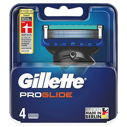 Gillette ProGlide - Cuchillas de afeitar para hombre (4 unidades)