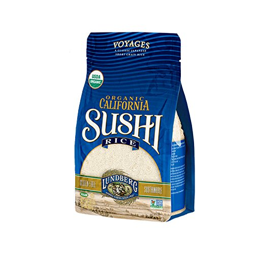 Lundberg Family Farms Organic Sushi Rice, California White, 32 Ounce