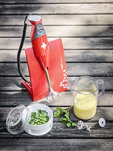 Bamix MX100080 SwissLine mixeur plongeant Rouge Croix Suisse