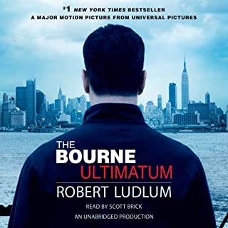 The Bourne Ultimatum audiobook cover art