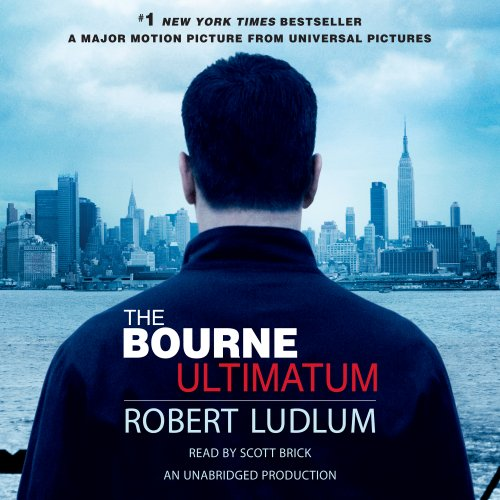 The Bourne Ultimatum audiobook cover art