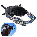 Tmom Ajustable Diadema para DJI FPV V2 Gafas, Diadema para Gafas de Realidad Virtual, Diadema Fija, Video Gafas Accesorios (Diadema)