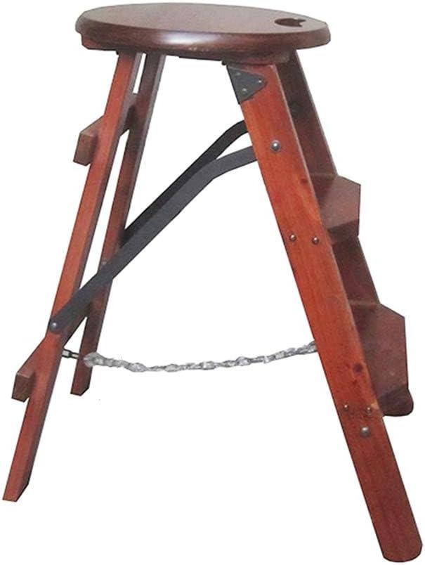 ZCL Step Stool Folding Award-winning store Wood Ladder Foo Chair Multifunction High order