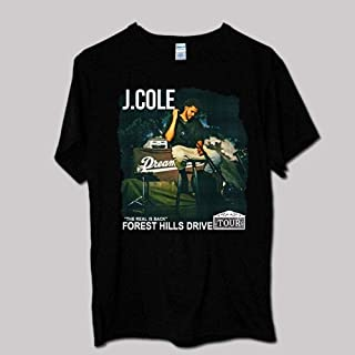 J Cole Forest Hills Drive Tour T shirt