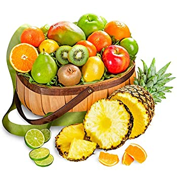 A Gift Inside Tropical Favorites Fruit Basket All Occasions
