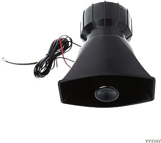 Tickas Motorcycle Air Horn 12V Super Sound Whistle High Bass Cars Aircompressor Kit Car Alarm Police and Ambulance Siren