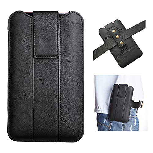Funda para cinturón diseñada para iPhone 12 Pro Max.para Huawei Mate 40 Lite/P40 Lite E/Mate 20X/Mate 20X Funda para proteger el teléfono. Negro