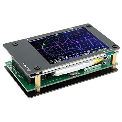 Oumefar Kit analizador de vectores de Alta presión de 50 kHz a 3 GHz portátil de 2,8 Pulgadas Profesional para Pruebas de frecuencia para la Industria