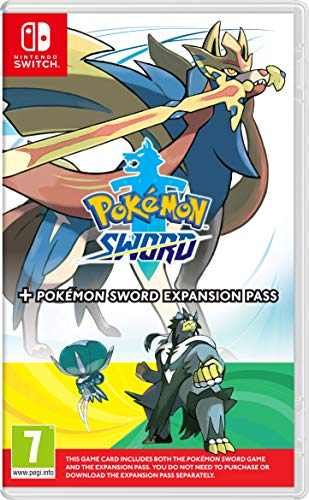 Pokemon Sword + Expansion Pass - Nintendo Switch [Edizione: Regno Unito]