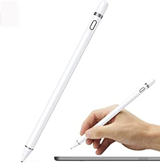 Active Stylus Pen Compatible for iOS&Android Touch Screens - Rechargeable Stylus for iPad/iPad Pro/Air/Mini/iPhone/Cellpho...