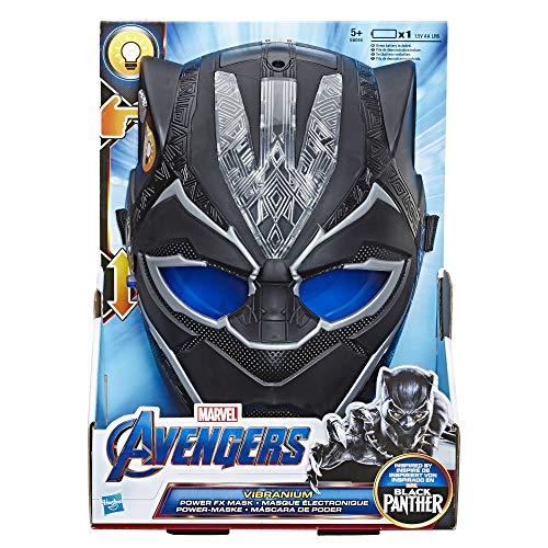 Marvel Avengers Black Panther Vibranium Masker