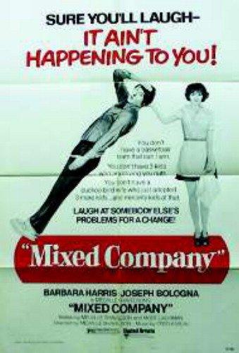 Mixed Company Barbara Harris Joseph Bologna 27X41 Original Movie Poster