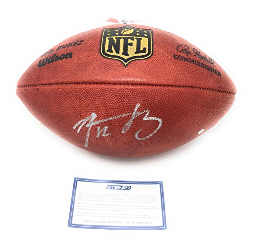 Aaron Rodgers Green Bay Packers Signed Autograph NFL Authentic Duke NFL Football Steiner Sports Certified