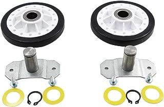 MAYITOP Dryer Repair Replacing Rear Drum Support Roller Kit for Whirlpool LA-1008