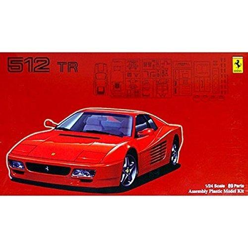 1/24 de la serie real Sports Car No.65 Ferrari 512TR (Jap?n importaci?n / El paquete y el manual est?n escritos en japon?s)