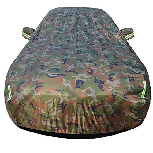Autoplanen Kompatibel mit Chevrolet Metro Limousine Car Cover All Weather wasser- und wind UV Car Cover Universal Full Size mit Auto-Kleidung Verschluss Oxford Cloth Car Cover Positive und negative ve