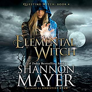 Elemental Witch audiobook cover art