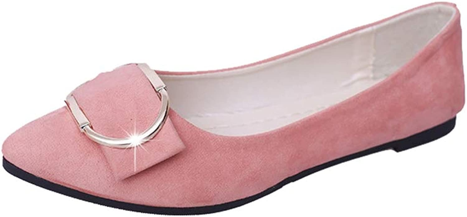 Women Flats shoes Fashion Pointed Toe Slip-On Comfort Casual Dress Flats shoes