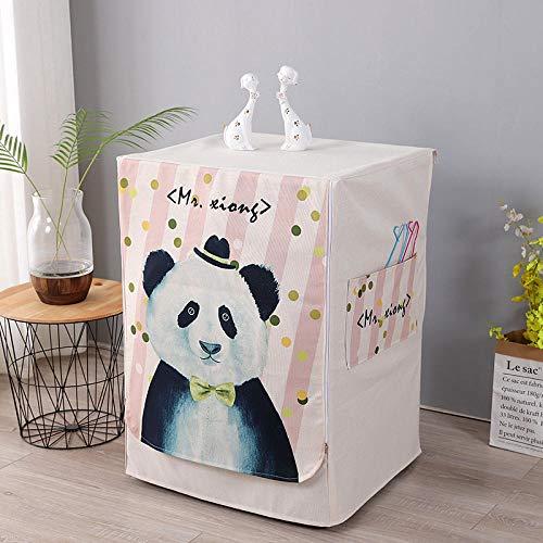 Waschmaschinendeckel, Waschmaschine schutz, für Waschmaschinen, Waschmaschine Frontlader-Waschmaschinenabdeckung-Herr Xiong_M Größe 60 * 55 * 85 cm