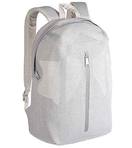 Herschel Supply Dayton Quiet Grey Rucksack funktionale Tasche mit ApexKnit-Technologie 48x31x15,5 cm 19L Freizeit-Tasche Outdoor-Rucksack Grau