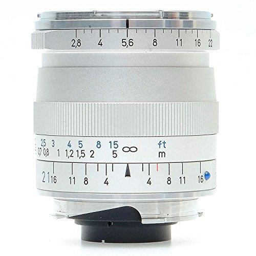 ZEISS Ikon Biogon T ZM 2.8/21 Super-Weitwinkel-Kameraobjektiv für Leica M-Mount Entfernungsmesser Kameras, 1365-650-L