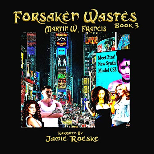 Forsaken Wastes: Book 3 cover art