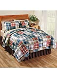 Carol Wright Gifts Maguire Quilt Set, Size Full/Queen (86' W x 86' L; Two 20' x 26' Shams), Size Full/Queen (86' W x 86' L; Two 20' x 26' s