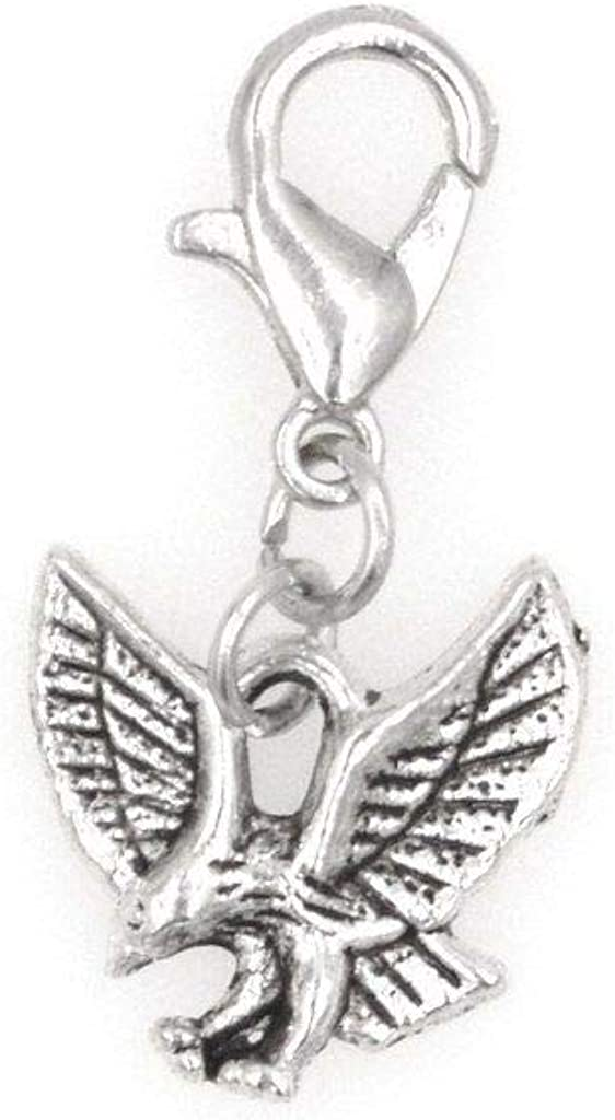 It's All About...You Small Eagle Clip Direct store Charm Now on sale for Neck Perfect