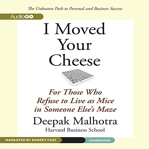 I Moved Your Cheese audiobook cover art