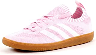adidas Womens Originals Samba Primeknit Trainers Sneakers in Wonder Pink.