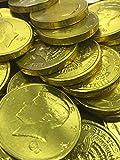 50 Milk chocolate John F Kennedy wrapped half dollar 50 cent coins Fresh Batch