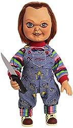 Ofertas Tienda de maquillaje: Muñeco de juguete Chucky Tiene 11 puntos de articulación Altura de 38 cm Cuenta con ropa real de paño