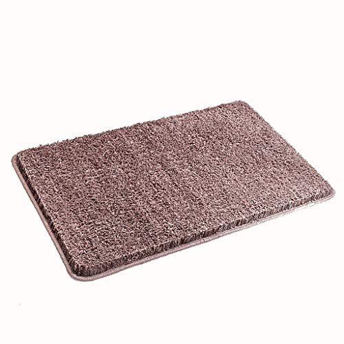 Review CarPet Bathroom, Waterproof pad at The Door is Waterproof and impervious (Color : Brown, Size...